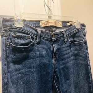 Hollister Jeans - Hollister CaliFlare denim blue jeans 5 short 5S